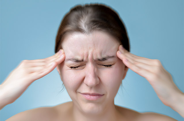 Headaches pain may be caused by joint dysfunction and helped by Chiropractic